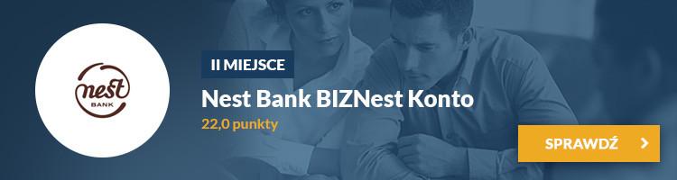 II miejsce - BIZNest Konto Nest Bank