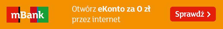 Otwórz eKonto za 0 zł przez internet