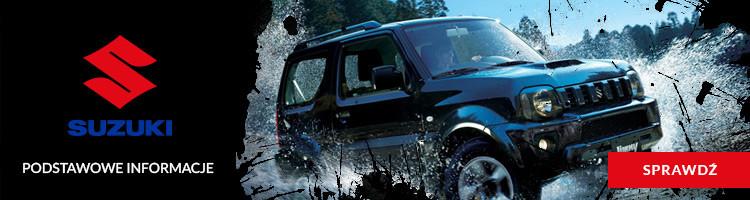 Suzuki Jimny  - podstawowe informacje