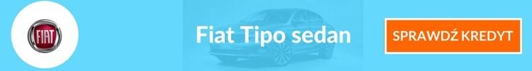 Fiat Tipo sedan sprawdź kredyt