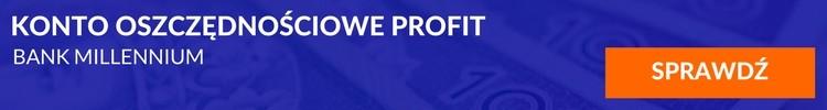 Konto oszczednościowe Profit Bank Millennium