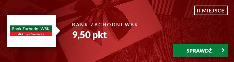 II miejsce - Bank Zachodni WBK